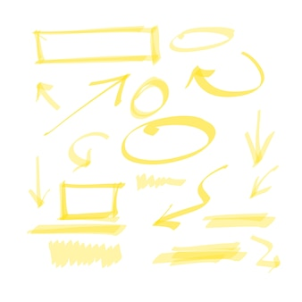 Elementy do rysowania ręcznie