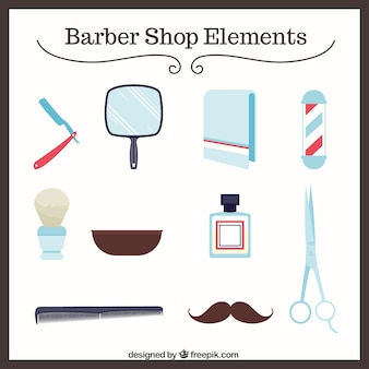 Elementy fryzjera