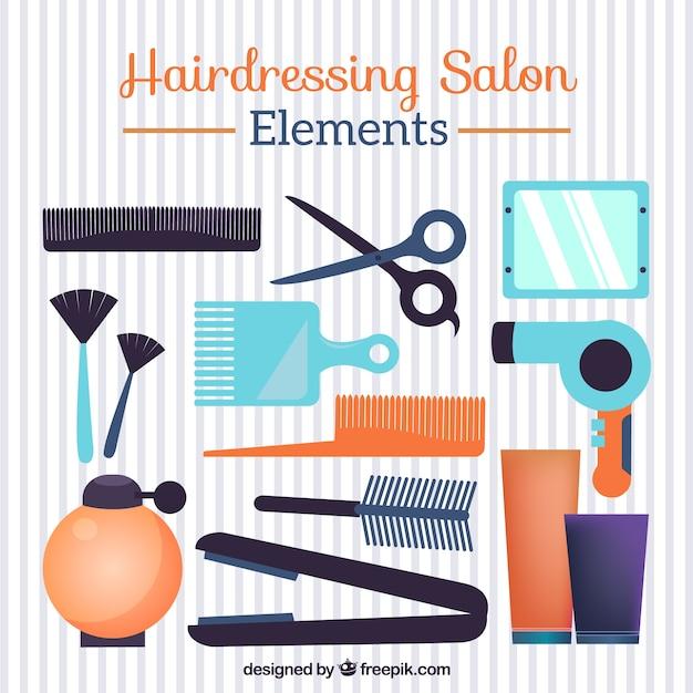 Elementy fryzjerskie salon