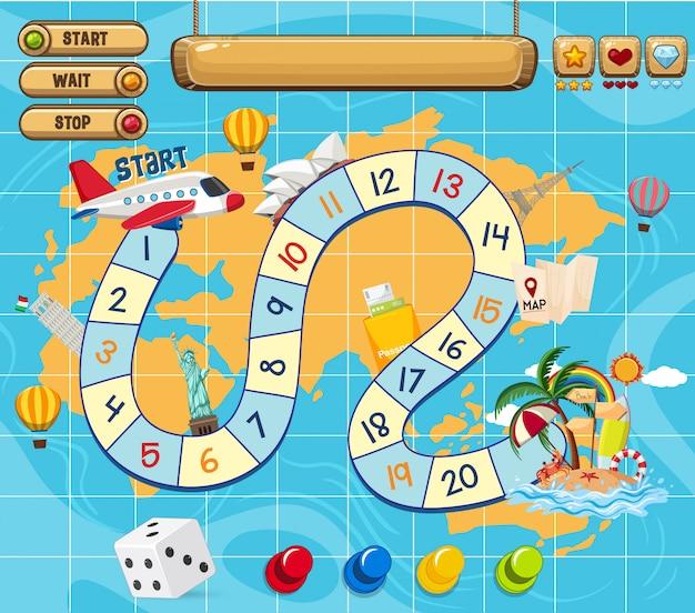 Elementy gry planszowej