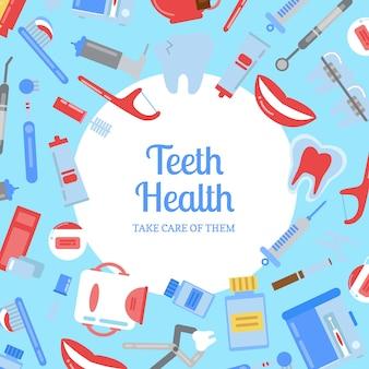 Elementy higieny zębów