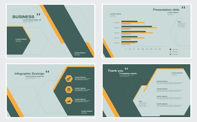 Elementy infografiki do prezentacji szablonów ilustracji infografika pokaz slajdów