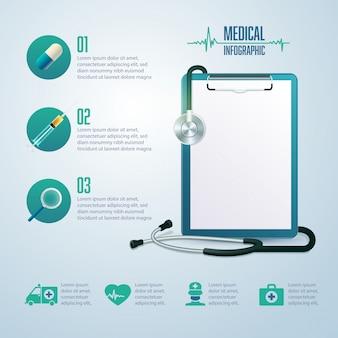 Elementy infografiki medycznej