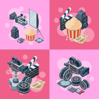 Elementy izometryczne kinematografu