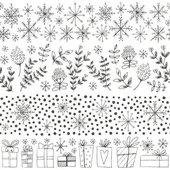 Elementy kolekcji zimowe