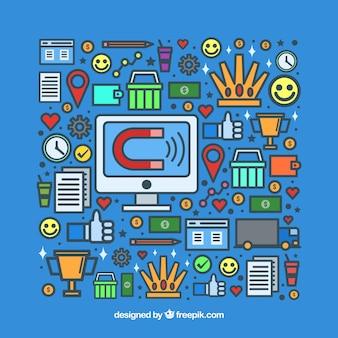 Elementy marketingowe wpływające