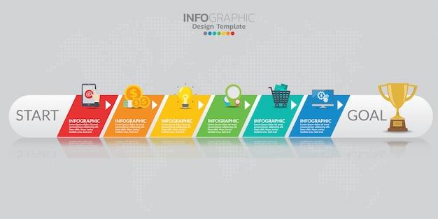 Elementy plansza dla treści, diagramu, schematu blokowego, kroków, części, osi czasu, przepływu pracy, wykresu.