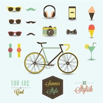 Elementy projektu hipster
