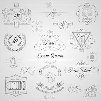 Elementy projektu kaligraficzne