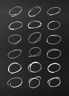 Elementy projektu ołówek wektor