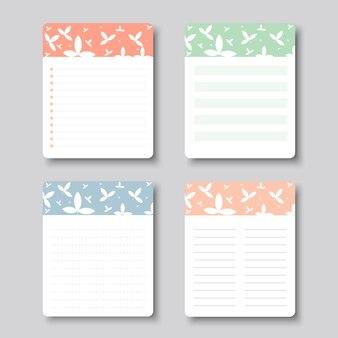 Elementy projektu wektorowego na notebooka