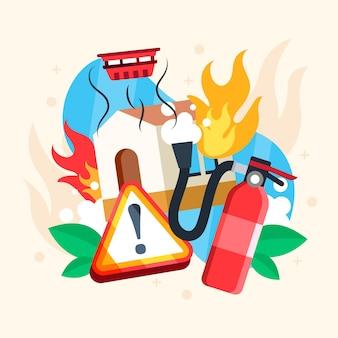 Elementy przeciwpożarowe o płaskiej konstrukcji