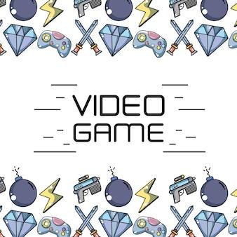 Elementy technologii gier wideo do tła gry