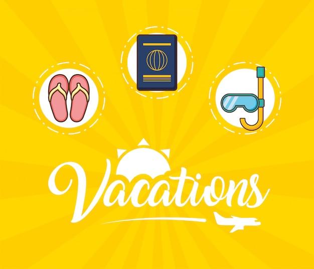 Elementy wakacji