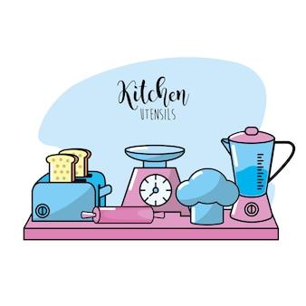 Elementy wyposażenia kuchni elementy kulinarne