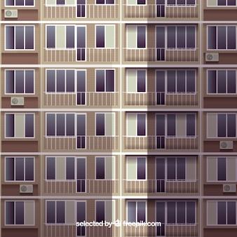 Elewacji budynku