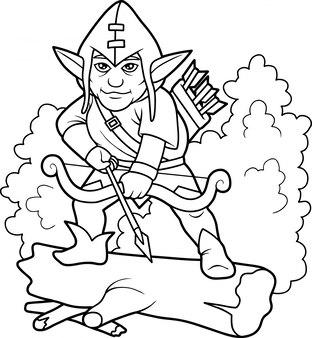 Elf łucznik