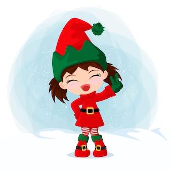 Elfo słodkie dziewczyny
