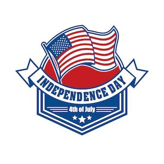 Emblemat i symbol na dzień niepodległości usa