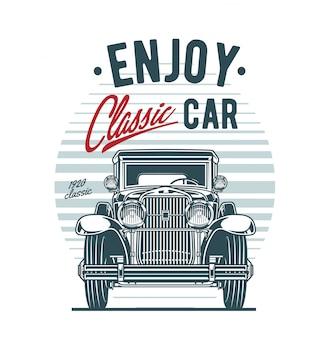 Emblemat klasycznej jazdy