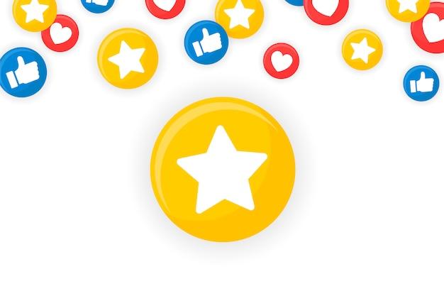 Emoji oprawione tło