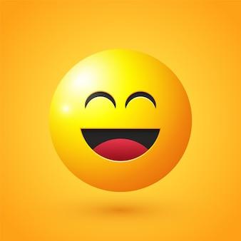 Emoji twarzy śmiechu