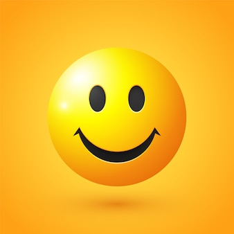Emoji uśmiechniętej twarzy
