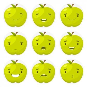 Emotikony jabłko
