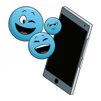 Emotikony na smartphone