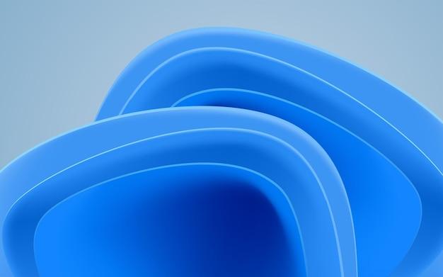 Epicka niebieska abstrack ilustracja wektorowa tła na pulpit