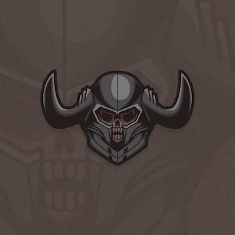 Esport logo gracza dark knight