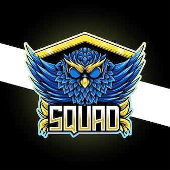 Esport logo sowa