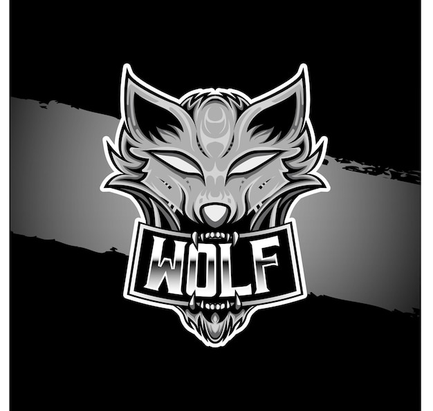 Esport logo wilk logo