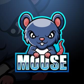 Esport maskotka myszy