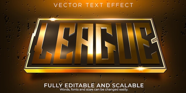 Esportowy efekt tekstowy, edytowalny gracz i neonowy styl tekstu