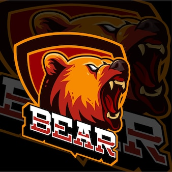 Esports logo logo bears animals