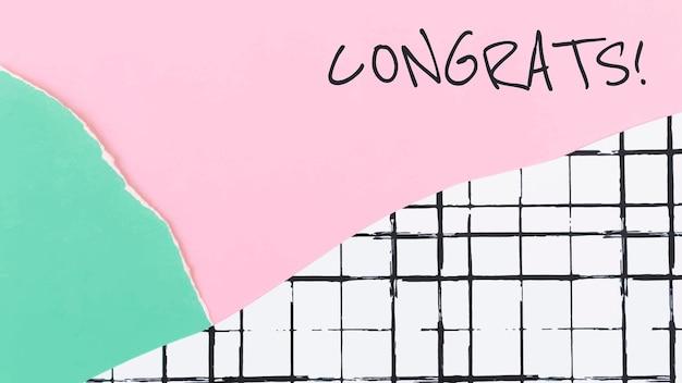 Estetyczny papierowy szablon kolażu wektor na baner bloga