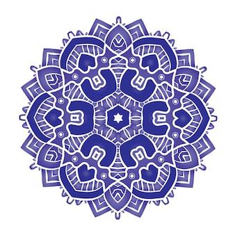 Etniczna psychodeliczna mandala
