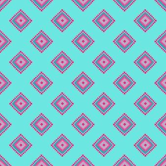 Etniczny bezszwowy wzór. plemienny druk w stylu afrykańskim, meksykańskim, indyjskim