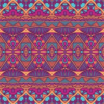 Etniczny plemienny wzór geometryczny.
