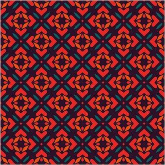 Etniczny wzór w minimalistycznym stylu