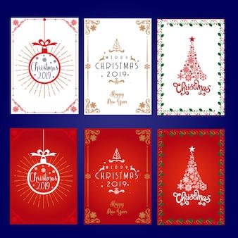 Etykieta świąteczna Elegante