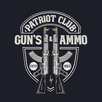 Etykieta klubu patriot
