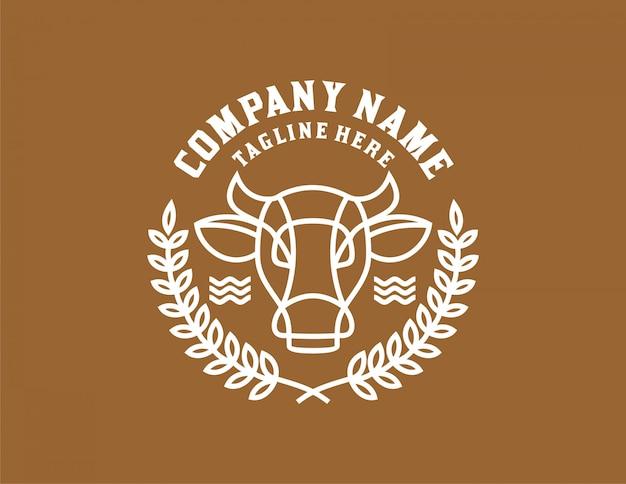 Etykieta krowy