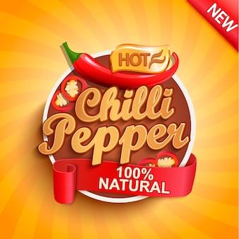 Etykieta papryczki chili
