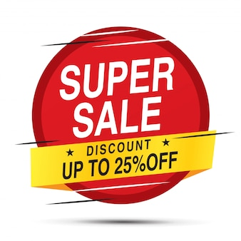 Etykieta Sprzedaży I Oferty Specjalnej Premium Wektorów