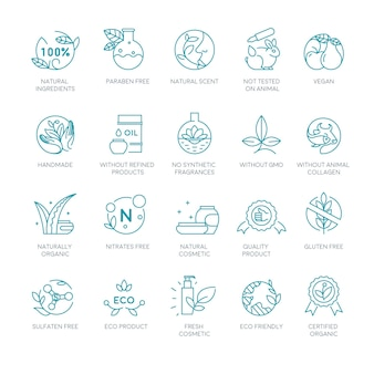 Etykiety i znaki kosmetyków naturalnych i organicznych