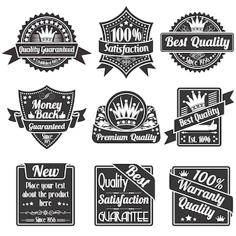 Etykiety jakości i gwarancji