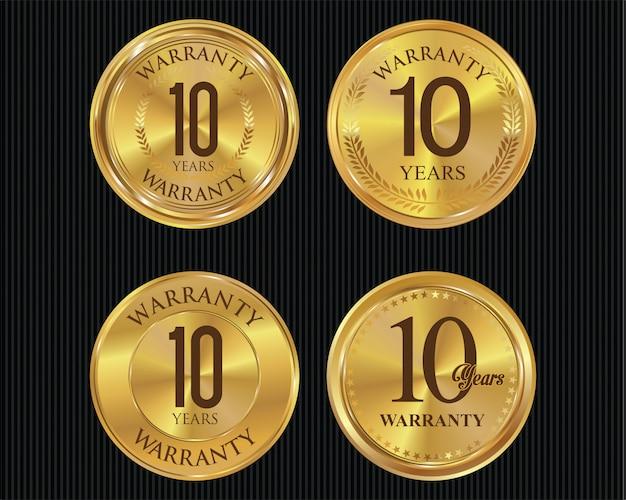 Etykiety rocznicowe
