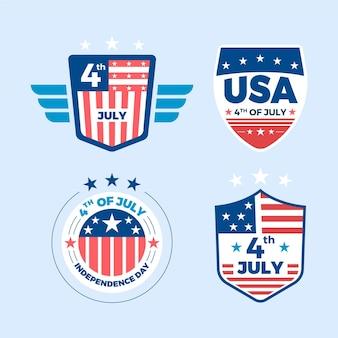 Etykiety z okazji dnia niepodległości